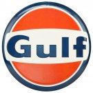 Gulf Oil Gas Mirror Sign 14x14