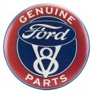 Genuine Ford Parts V8 Mirror Sign 14x14