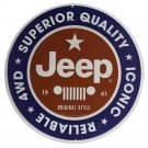 Jeep Superior Quality Mirror Sign 14x14