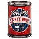 Speedway Motor Oil Mirror Sign 14x14