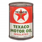 Texaco Motor Oil Can Mirror Sign 14x14