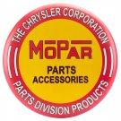 Mopar Parts Accessories  Mirror Sign 14x14