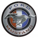 Ford Mustang  Mirror Sign 14x14