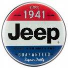 Jeep Logo   Mirror Sign 14x14