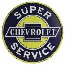 Super Chevrolet   Mirror Sign 14x14