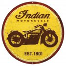 Indian Motorcycles Mirror Sign 14x14