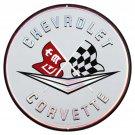 Chevrolet Corvette Mirror Sign 14x14