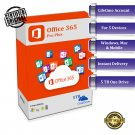 Microsoft Office 365 Pro Plus Lifetime Random Account + 5TB OneDrive (Windows - MAC - Mobile)