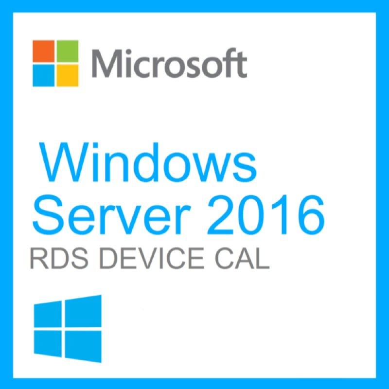 Windows Server 2016 Remote Desktop Services DEVICE CAL 50 Client