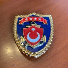 Turkish Army Naval Forces Breast Insignia, Current, Original, Brand New