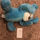 GIGGLES 2017 Stuffed Blue Rabbit Dog Toy Animal Laughs Baby Infant PEEK-A-BOO