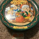 Vintage KEEBLER Holiday Cookies 1996 Christmas Collector Tin with Lid Crackers