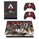 Apex Legends decal skin for Xbox one X Console & Controllers