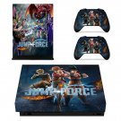 Jump Force decal skin for Xbox one X Console & Controllers