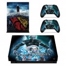 Game of Thrones decal skin for Xbox one X Console & Controllers