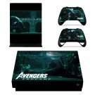 Avengers Endgame decal skin for Xbox one X Console & Controllers