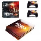 Metro Exodus decal skin for PS4 Pro Console & Controllers