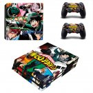 My Hero Academia decal skin for PS4 Pro Console & Controllers