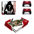 Apex Legends decal skin for PS4 Pro Console & Controllers