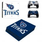 Tennessee Titans decal skin for PS4 Pro Console & Controllers