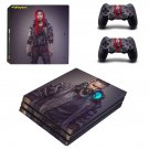 Cyberpunk 2077 decal skin for PS4 Pro Console & Controllers