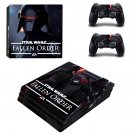 Stars Wars Jedi fallen  order decal skin for PS4 Pro Console & Controllers