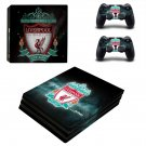 Liverpool FC decal skin for PS4 Pro Console & Controllers