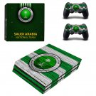 Saudi National Football Team decal skin for PS4 Pro Console & Controllers