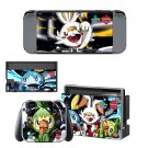 Pokémon Sword and Shield decal skin for Nintendo Switch Console & Controllers