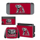 Alabama Crimson Tide decal skin for Nintendo Switch Console & Controllers