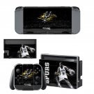 San Antonio Spurs decal skin for Nintendo Switch Console & Controllers