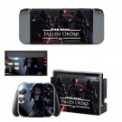 Stars Wars Jedi fallen  order decal skin for Nintendo Switch Console & Controllers