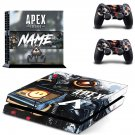 Apex Legends  decal skin for PlayStation 4 Console & Controllers