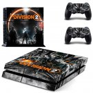 The Division 2  decal skin for PlayStation 4 Console & Controllers