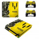 Leonel Messi decal skin for PS4 Slim Console & Controllers