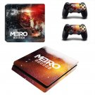 Metro Exodus decal skin for PS4 Slim Console & Controllers