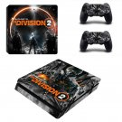 The Division 2 decal skin for PS4 Slim Console & Controllers