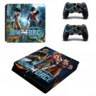 Jump Force decal skin for PS4 Slim Console & Controllers