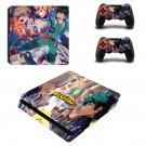 My Hero Academia decal skin for PS4 Slim Console & Controllers