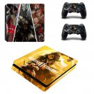 Mortal Kombat 11 decal skin for PS4 Slim Console & Controllers