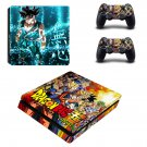 Dragon Ball decal skin for PS4 Slim Console & Controllers
