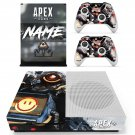 Apex Legends decal skin for Xbox One S console and controllers