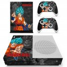Dragon Ball decal skin for Xbox One S console and controllers