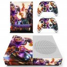 Avengers Endgame decal skin for Xbox One S console and controllers