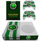 Saudi National Football Team decal skin for Xbox One S console and controllers