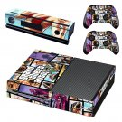 GTA Five decal skin for Xbox one Console & Controllers