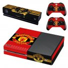 Manchester United decal skin for Xbox one Console & Controllers