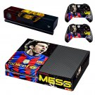 FCB Messi decal skin for Xbox one Console & Controllers