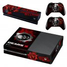 Gears 5 decal skin for Xbox one Console & Controllers