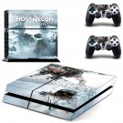 Ghost Recon breakpoint decal skin for PlayStation 4 Console & Controllers